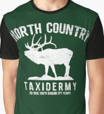 North Country Texidermy Graphic T-Shirt