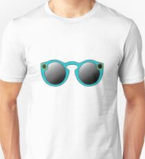 Snapchat Spectacles Graphic- Blue Unisex T-Shirt