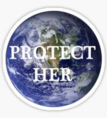 Protect Her Sticker