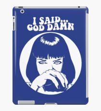 mia uma iPad Case/Skin