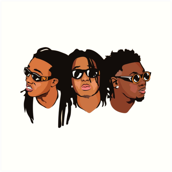 Quot We Are Migos Quot Art Prints By Rampagekilla Redbubble