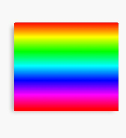 Rainbow by Processing Canvas Print