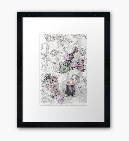 The Sweetness of Romance Framed Print