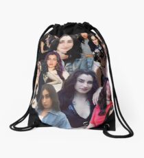 the lauren jauregui Drawstring Bag