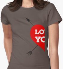 Couple Love - Half Heart T-Shirt