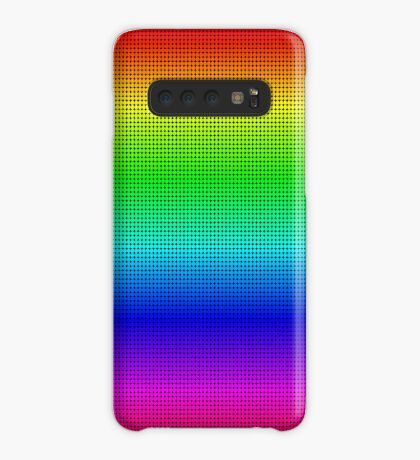 Another rainbow created with Processing Case/Skin for Samsung Galaxy