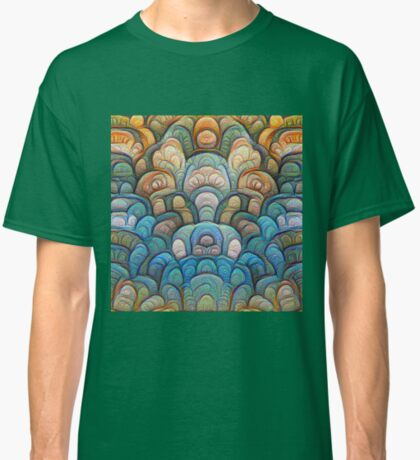 Autumn forest at sunset #DeepDream #Art Classic T-Shirt