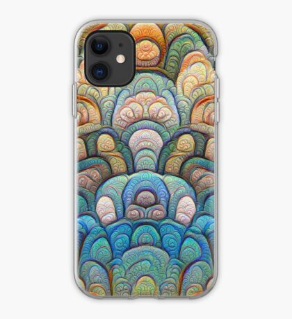 Autumn forest at sunset #DeepDream #Art iPhone Case