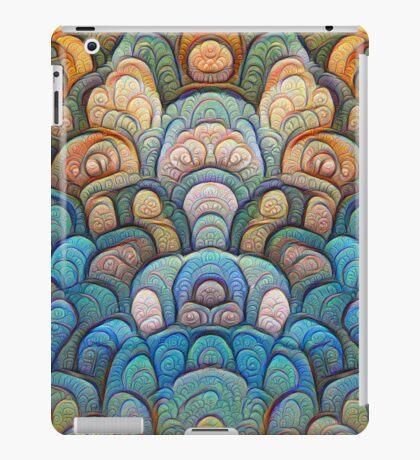 Autumn forest at sunset #DeepDream #Art iPad Case/Skin
