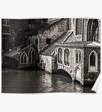 Medieval Architecture Of Bruges Poster