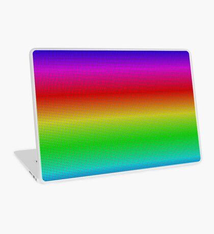 Rainbow Polka dots 002 Laptop Skin