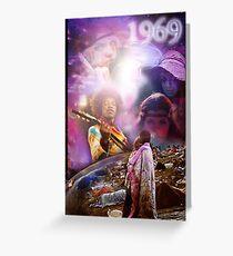 Woodstock 1969 Greeting Card