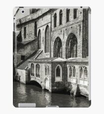 Medieval Architecture on the Canal - Bruges iPad Case/Skin