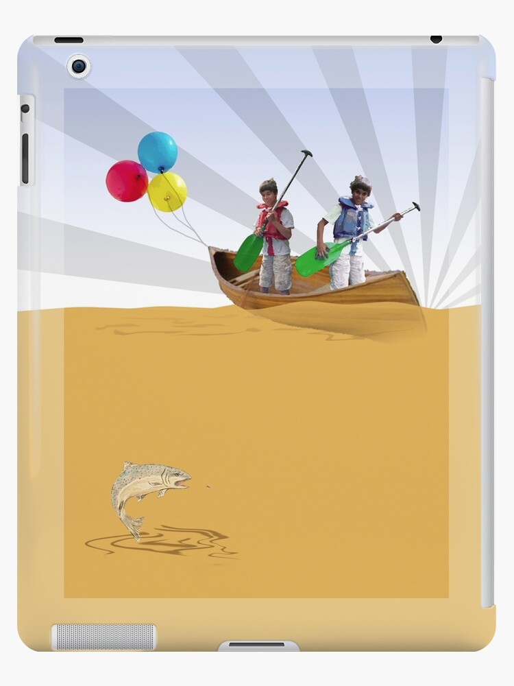 Ipad: Canoe with Pooh by Steven House