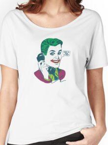 888-JOE-HAHA Women's Relaxed Fit T-Shirt