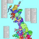 Historic Counties of Great Britain by ianturton