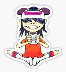 Noodles on her Gameboy - Gorillaz  Sticker