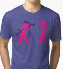 Photographer Supermodel Tri-blend T-Shirt