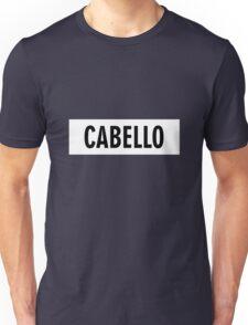 Cabello 7/27 - White Unisex T-Shirt