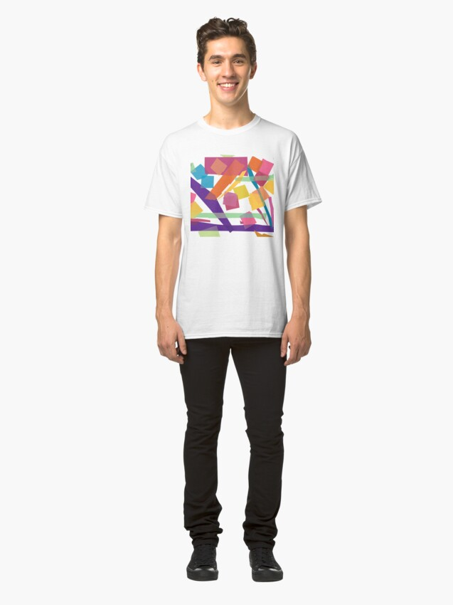 Alternate view of Abstract Uno Classic T-Shirt