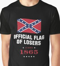 Official Flag of Losers - Since 1865 Graphic T-Shirt