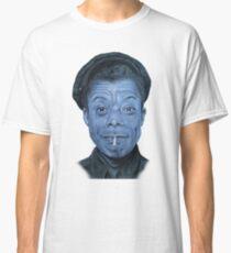 James Baldwin in Blue Classic T-Shirt