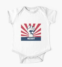 Resist Dies ist nicht normal Baby Body Kurzarm