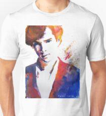 Sherlock - Splash of Colour Unisex T-Shirt