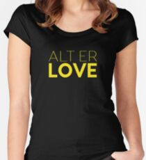 Alt Er Love — Skam  Women's Fitted Scoop T-Shirt