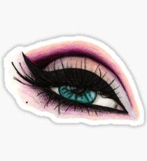 Smokey eyes Sticker