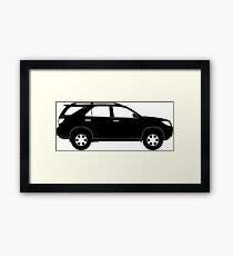 Sports Utility Vehicle SUV Framed Print