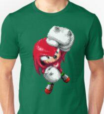 Knuckles Pixel Art Unisex T-Shirt