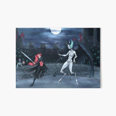 Duel Art Board Print