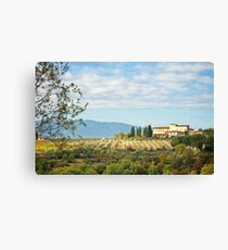 Typical Tuscan hill Canvas Print