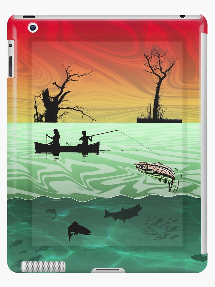 Ipad: Canoe Fishing in the Ardennes by Steven House