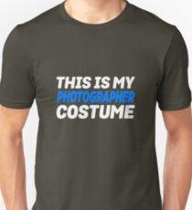 My Photographer Costume Unisex T-Shirt