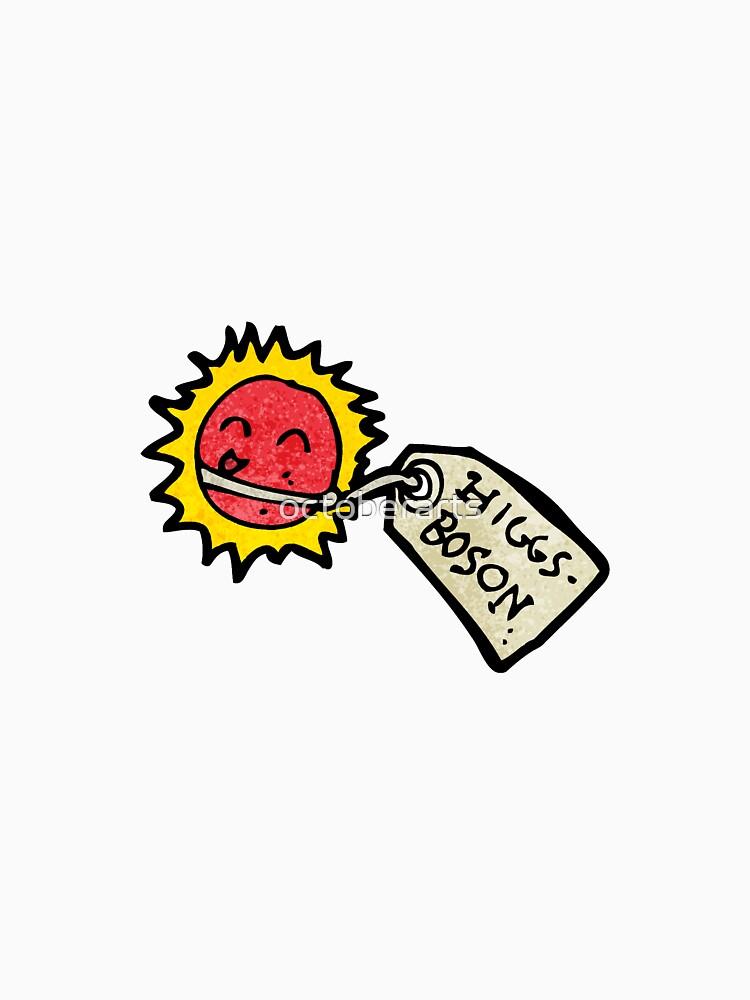 cartoon higgs boson particle von octoberarts