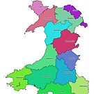 Historic Counties of Wales by ianturton