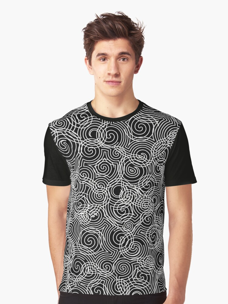 Abstract background Graphic T-Shirt Front