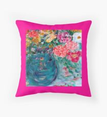 Romance Flowers Designer Decor & Gifts Throw Pillow