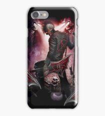 skull rock devil iPhone Case/Skin