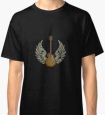 wings guitar rock Classic T-Shirt
