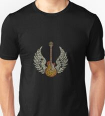 wings guitar rock T-Shirt