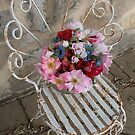 Floral chair by Denzil