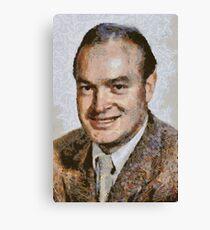 Bob Hope, Vintage Comedian Canvas Print
