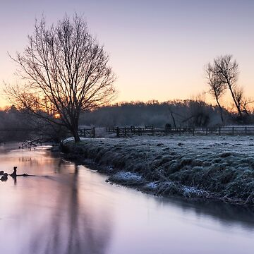 Frosty sunrise by Kerto