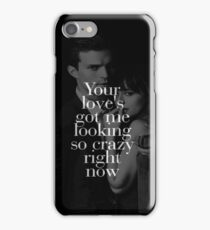 Fifty Shades Of Darker Crazy Night iPhone Case/Skin