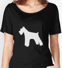 Schnauzer | Dogs Women's Relaxed Fit T-Shirt