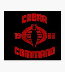Cobra Command Photographic Print
