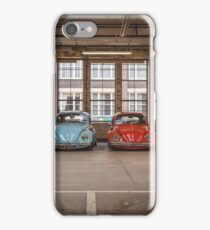 VW Beetle Bus Camper Classics iPhone Case/Skin